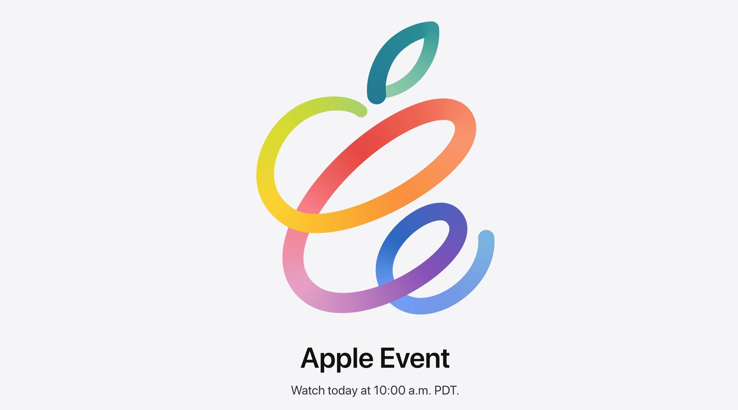 「AppleEvent(4月20日) まとめ」のアイキャッチ画像